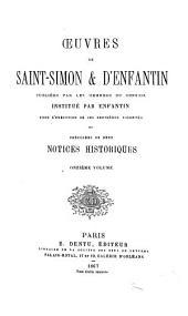 Œuvres de Saint-Simon & d'Enfantin: Volumes11à12