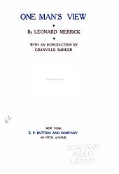 The Works of Leonard Merrick: One man's view