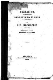 Disamina sull'opinione di G. Boccaccio intorno alla così detta papessa Giovanna