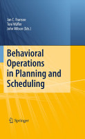 Behavioral Operations in Planning and Scheduling PDF