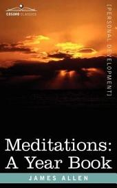 Meditations: A Year Book