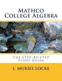 Mathco College Algebra
