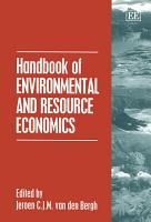Handbook of Environmental and Resource Economics PDF