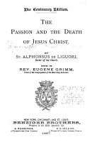 The Passion and the Death of Jesus Christ PDF