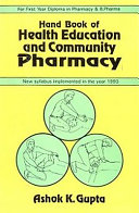 Hand Book of Health Education and Community Pharmacy