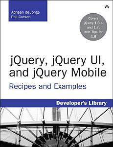 jQuery  jQuery UI  and jQuery Mobile PDF