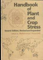 Handbook of Plant and Crop Stress  Second Edition PDF