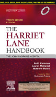 The Harriet Lane Handbook  22 Edition  South Asia Edition   E Book PDF