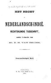 Indisch tijdschrift van het recht: orgaan der Nederlandsch-Indische juristen-vereeniging, Deel 62
