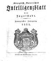 Königlich-baierisches Intelligenzblatt von Ingolstadt: Band 20