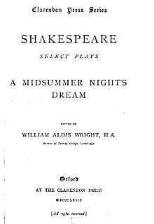Select Plays  A midsummer night s dream Book