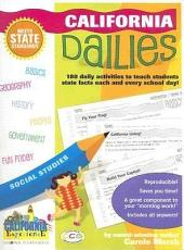 California Dailies: 180 Daily Activities to Teach Students State Facts Each and Every Day!