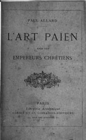 L'art païen sous les empereurs chrétiens