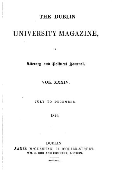 Download The Dublin university magazine Book