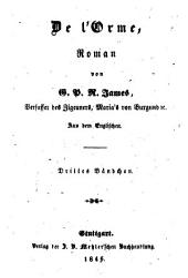 Romane: De l'Orme ; 3, Band 163