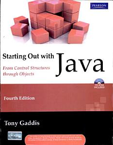 Starting Out With Java  From Control Structures Through Objects  4 E  With Cd  PDF