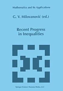 Recent Progress in Inequalities PDF