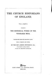 The Historical Works of the Venerable Beda