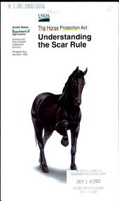 The Horse Protection Act: understanding the scar rule