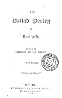 The ballad poetry of Ireland  Ed  by C G  Duffy  4th ed PDF