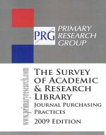 Survey of Academic & Research Library Journal Purchasing Practices