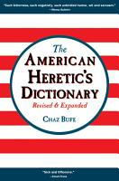 American Heretic s Dictionary PDF