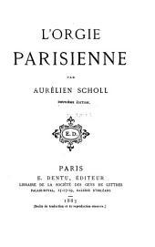 L'orgie Parisienne
