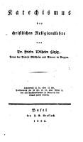 Katechismus der christlichen Religionslehre PDF