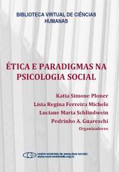Ética e paradigmas na psicologia social