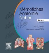 Mémofiches Anatomie Netter - Tronc: Édition 4