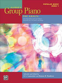 Alfred s Group Piano for Adults Pop Book