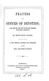 Prayers and offices of devotion