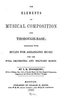 The Elements of Musical Composition and Thorough-base