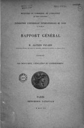 Exposition universelle internationale de 1889 à Paris: Rapport général. Travaux de l'Exposition, Volume2