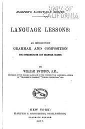 Language Lessons: An Introductory Grammar and Composition for Intermediate and Grammar Grades