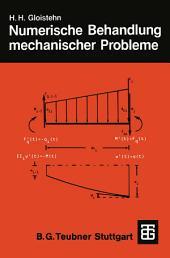 Numerische Behandlung mechanischer Probleme mit BASIC-Programmen
