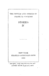The Novels and Stories of Frank R. Stockton: Volume 18