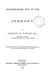 Tractarianism not of God. Sermons