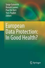 European Data Protection  In Good Health  PDF