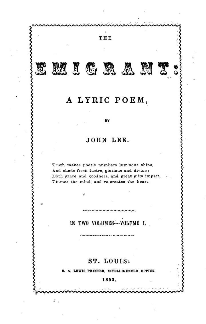 The Emigrant
