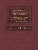 Beethoven s Letters from the Collection of Dr  Ludwig Nohl PDF