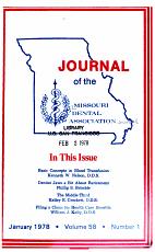 The Journal of the Missouri Dental Association PDF