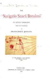 La navigatio Sancti Brendani: in antico veneziano