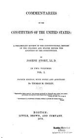 Commentaries on the Constitution of the United States: Volume 2
