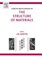 Concise Encyclopedia of the Structure of Materials PDF