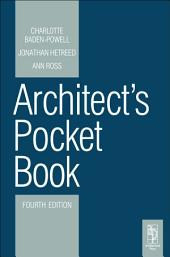 Architect's Pocket Book: Edition 4
