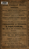 The Boston Commercial Directory for 1869 PDF