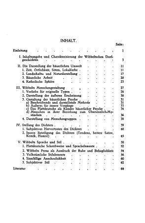 Augustin Wibbelt und die Dorfgeschichte PDF
