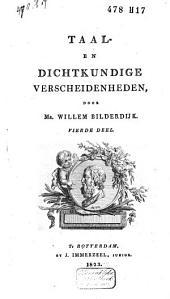 Taal- en dichtkundige verscheidenheden: Volume 4