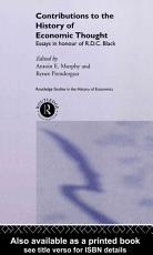Contributions to the History of Economic Thought PDF
